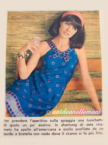 copricostume anni 60 vintage