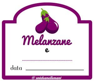 etichetta mermellata melanzane e altro
