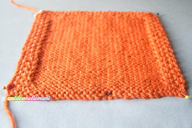 bloccaggio lavoro a maglia