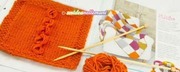Lavorare ai ferri: impariamo a fare la coperta a maglia a qu...