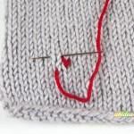 tutorial custodia cellulare a maglia step 3
