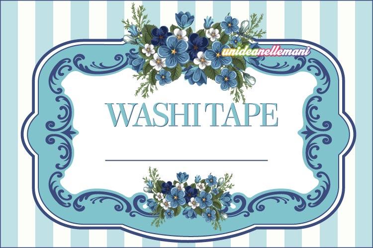 etichetta washitape vari