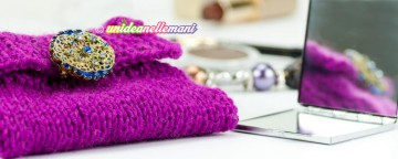 pochette a maglia