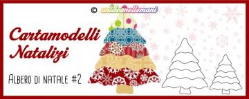 Cartamodelli Natalizi: Albero di Natale Balze #2