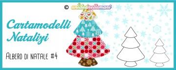 Cartamodelli Natalizi: cartamodello Albero di Natale Pagoda ...