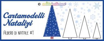 Cartamodelli Natalizi: Albero di Natale Triangolo #1