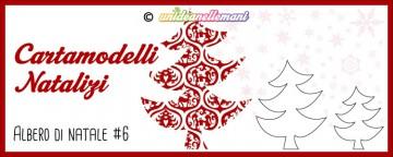 Cartamodelli Natalizi: cartamodello Albero di Natale Dondolo...
