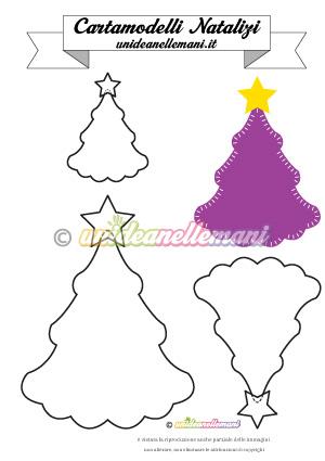 cartamodello-albero-natale-violetta