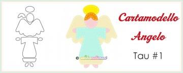 Cartamodello angelo da stampare