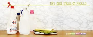 Idee e buoni consigli per riciclare i flaconi di plastica