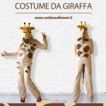 costume di carnevale da giraffa
