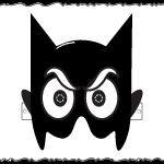 Maschera da BATMAN da stampare