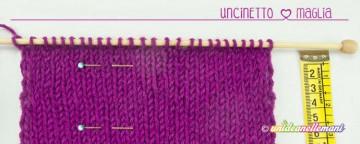Maglia Uncinetto: come calcolare il numero di maglie da avvi...