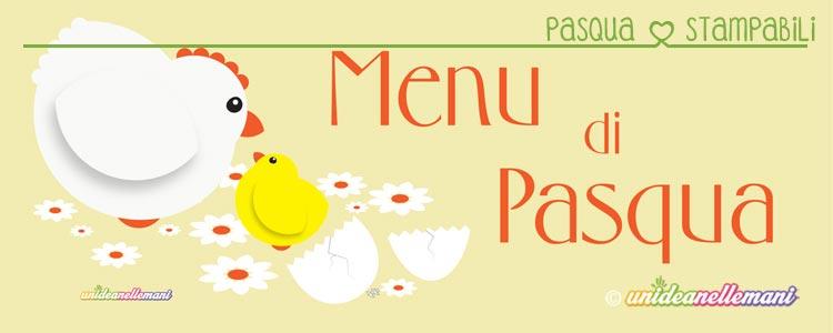 menu di pasqua da stampare, menu di pasqua da compilare, menu di pasqua editabile, menu di pasqua fai da te,