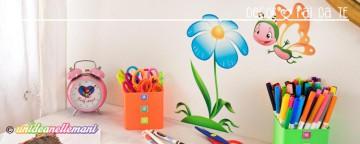 Come decorare le pareti della cameretta con gli Stickers mur...