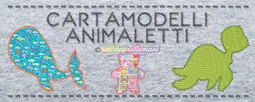 Raccolta Cartamodelli Animali per applicazioni e decorazioni...