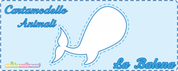 Cartamodello Balena da stampare