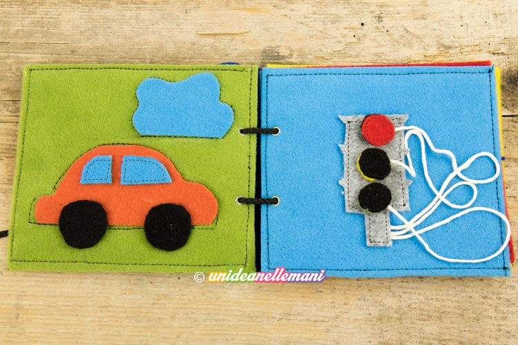 libro per bambini in feltro, libro sensoriale per bambini, libro sensoriale feltro,