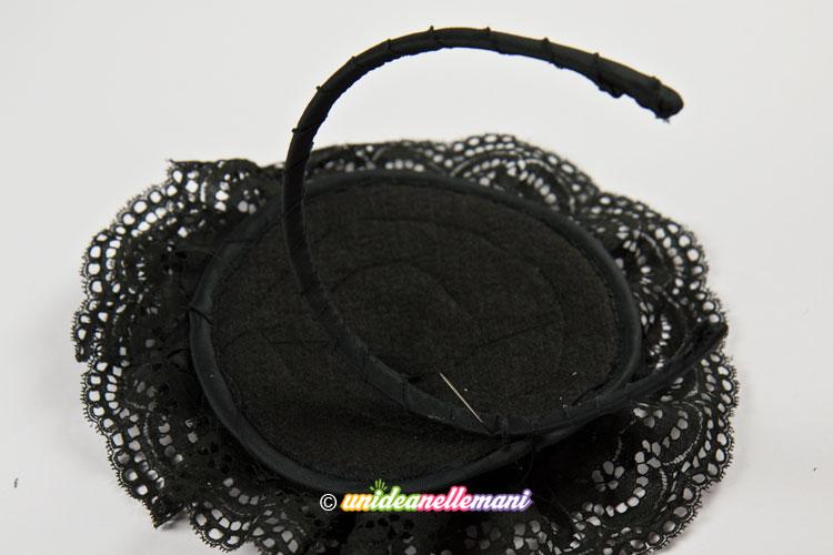 cappello vintage da donna, cappello donna anni 60, copricapo vintage, cappello con pizzo,