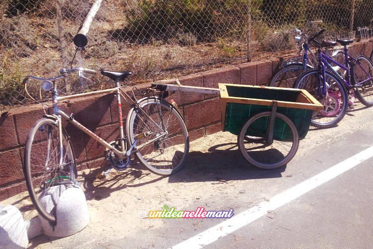 carrello bici fai da te