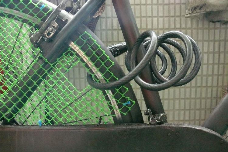copriraggi bicicletta