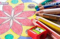 colorare mandala,