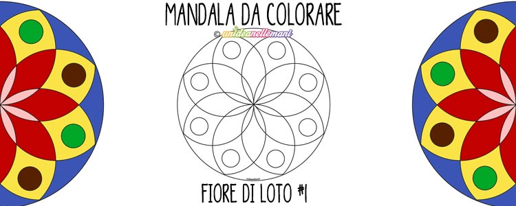 mandala da colorare,