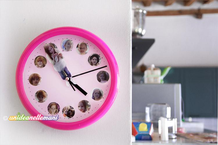 Lavoretti creativi per bambini l 39 orologio da parete for Idee per orologio da parete