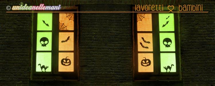 decorazioni halloween finestre, decorazioni halloween fai da te, decorazioni halloween casa