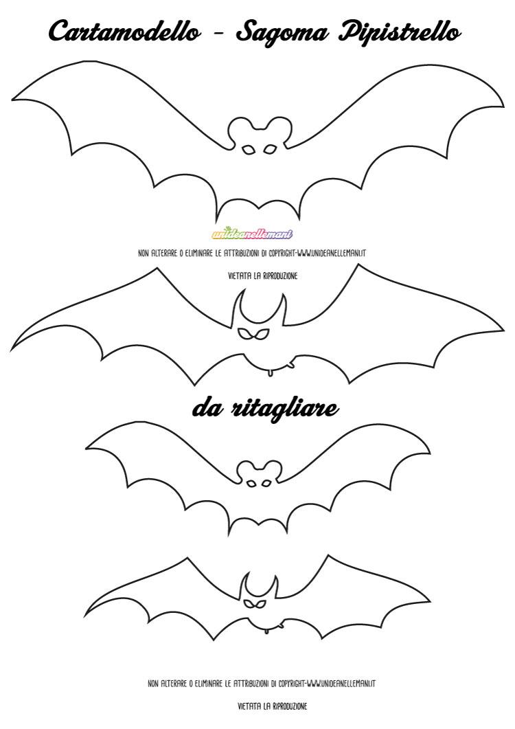 sagome pipistrello