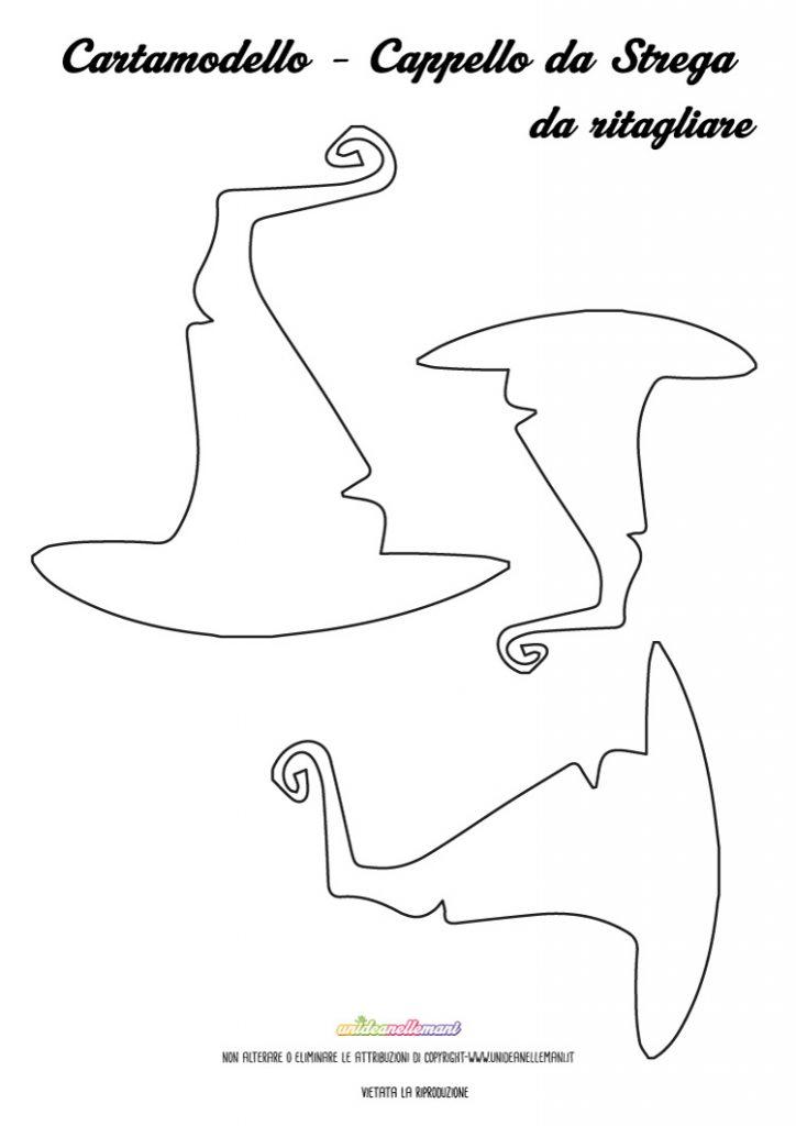 halloween-sagoma-cappello-da-strega