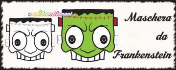 Maschera da Frankenstein da stampare e da colorare