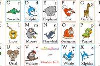 raccolta-schede-alfabeto-animali-inglese