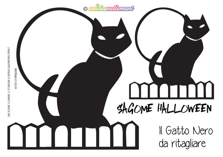 Sagome gatto da stampare colorare e ritagliare for Disegni da colorare e ritagliare per bambini