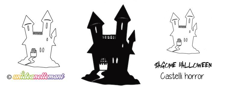 sagome Castello di halloween