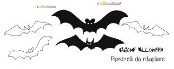 sagome pipistrelli, sagome pipistrelli da stampare, sagome pipistrelli da colorare, sagome pipistrelli da ritagliare, sagome Halloween,