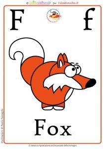 scheda-didattica-alfabeto-inglese-f-fox-color-hq