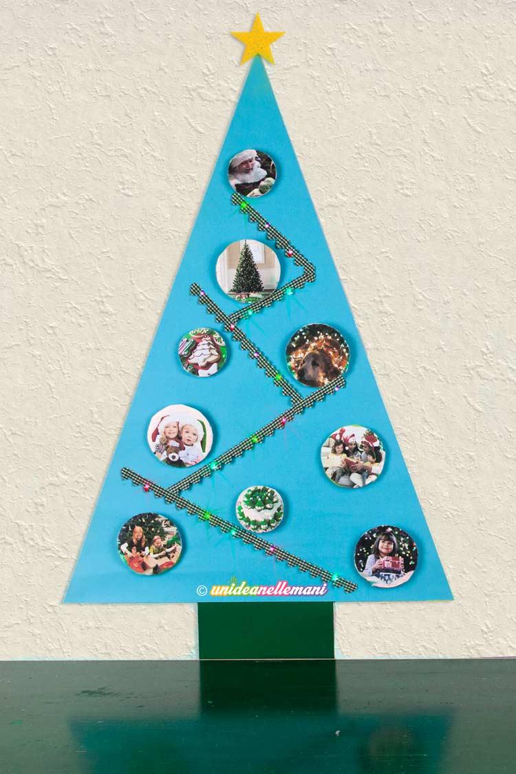 Bien-aimé Come fare divertente Albero di Natale di Carta per bambini ON63