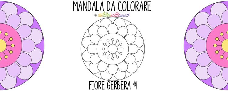 mandala da colorare, mandala da stampare, mandala per bambini, mandala fiore con petali, mandala da colorare facili,