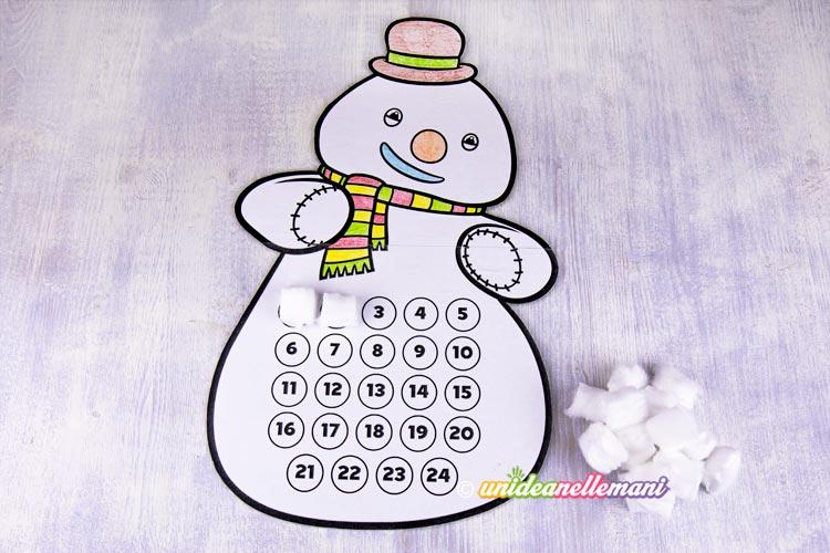 Calendario Dellavvento Da Stampare Per Bambini.Calendario Dell Avvento Per Bambini Da Stampare E Fare Al