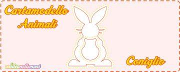 Cartamodello coniglio da stampare