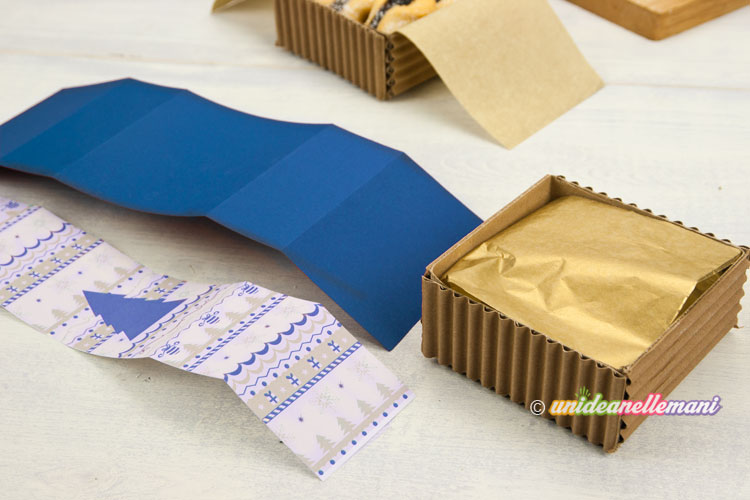 confezione pacchetto per biscotti