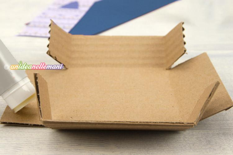 incollare-scatolina-cartone-fai-da-te