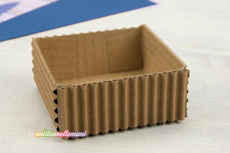 Eccezionale Fai da te: come costruire una scatolina di cartone multiuso HM13