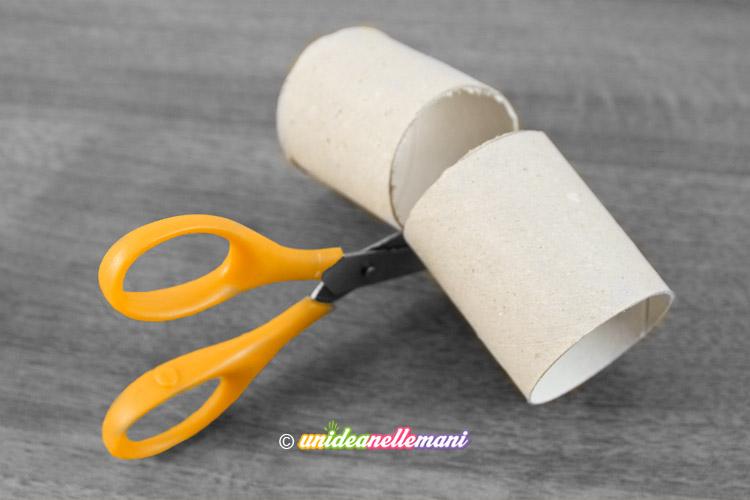 taglio rotolo cartone