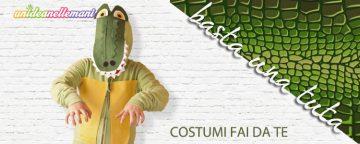 Come fare un costume da Coccodrillo con una tuta da ginnasti...
