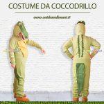 costume di carnevale da coccodrillo