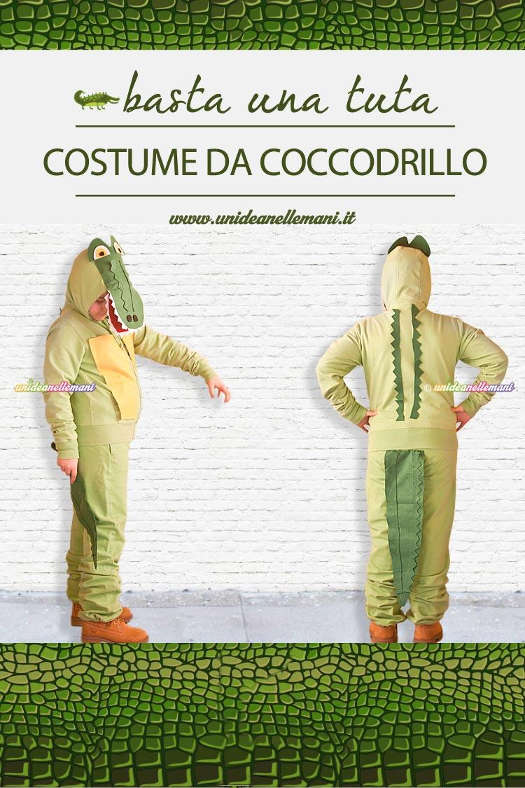 Come Fare Un Costume Da Coccodrillo Con Una Tuta Da Ginnastica