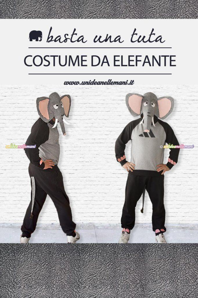 costume di carnevale da elefante