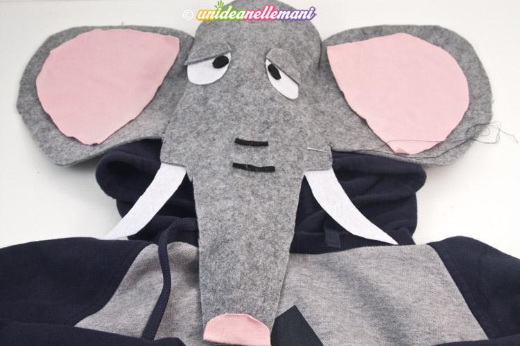 costume di carnevale da elefante fai da te